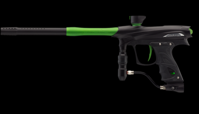 Maxxed Rail Black Lime