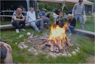 Chillout Lagerfeuer