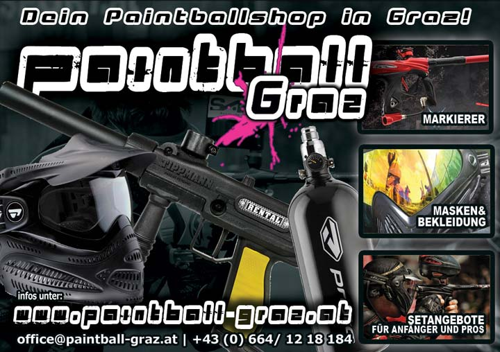 Paintball Shop in Graz, Steiermark